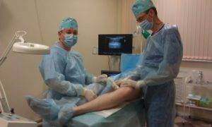 Операция на вены ног