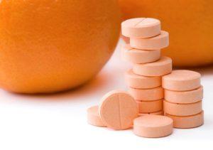 Таблетки и апельсин