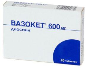 Препарат Вазокет