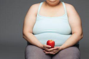 Человек с избыточным весом