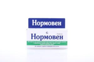 Таблетки Нормовен