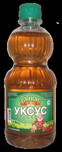 Бутылка с яблочным уксусом